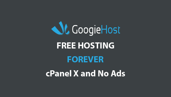 GoogleHost Free cPanel Hosting No Ads