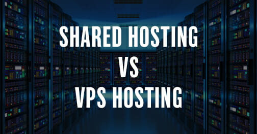 shared hosting and vps