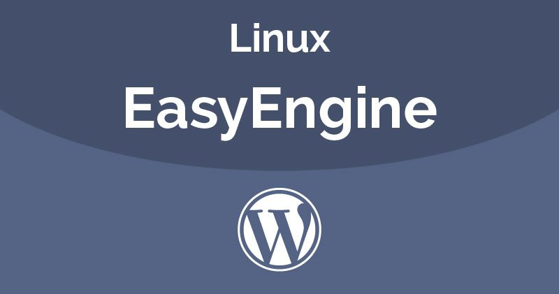 install wordpress on easyengine