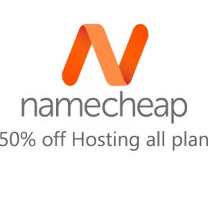 50% off namecheap hosting all plan coupons