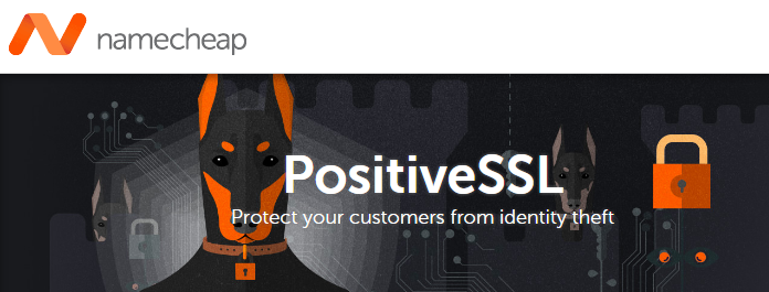 Cheap Comodo Positive SSL at Namecheap
