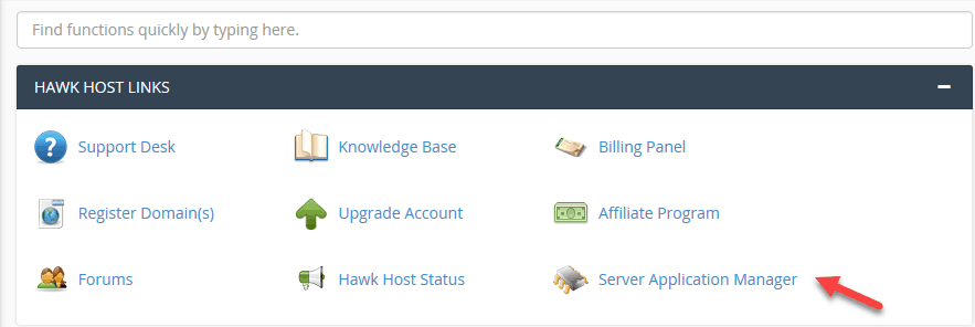 Server Application Manager