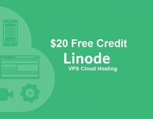 Free 20$ credit linode