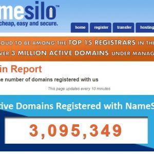 NameSilo 3 million domain