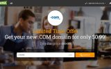 HostPapa domain 99 cents coupon