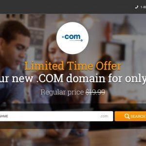 HostPapa domain 99 cents coupon