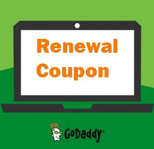 godaddy renewal coupon