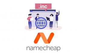 inc domain namecheap coupon