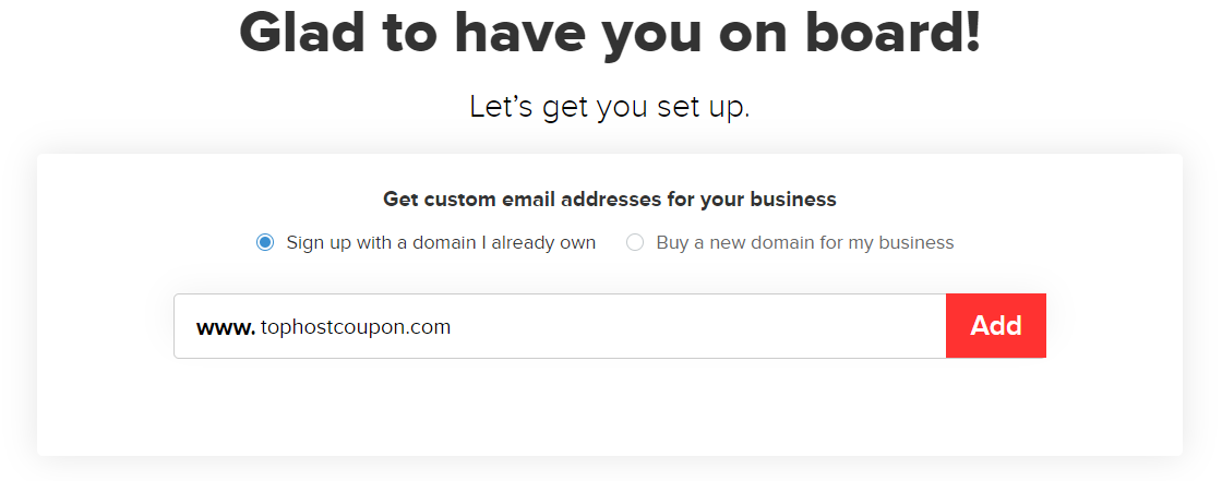 register domain with zoho