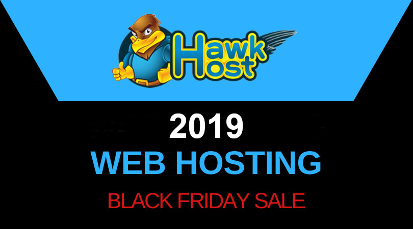 HawkHost Black Friday 2019 coupon