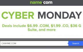 Name.com cyber monday