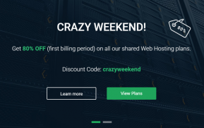 StableHost crazy weekend deal coupon