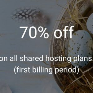 StableHost easter promo code