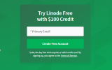 free 100 usd credit at Linode