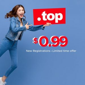 Epik .TOP domain 99 cents