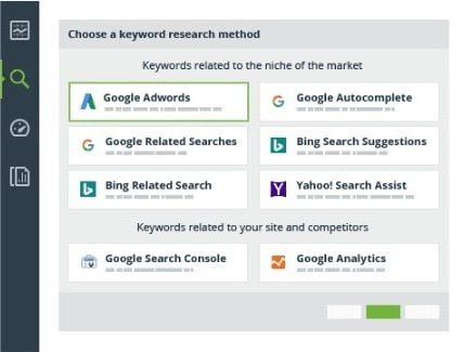 find keyword rank tracker