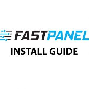 FastPanel install guide