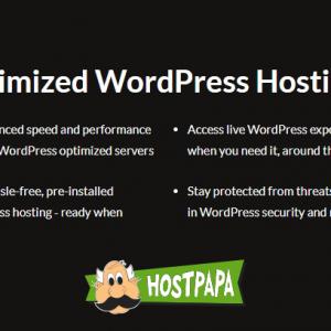 HostPapa Optimized WordPress Hosting