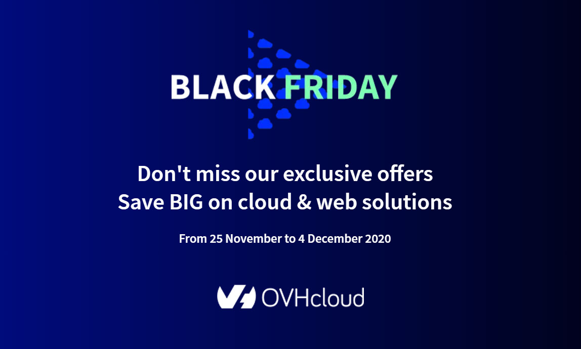 OvhCloud Black Friday