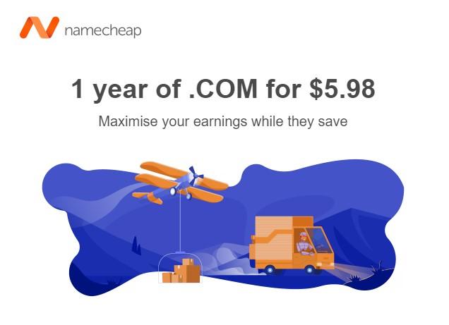 Namecheap transfer domain coupon