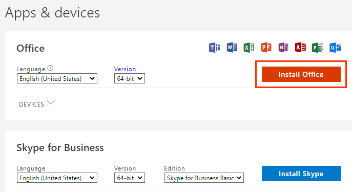 Install Office 365 step 3